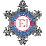 PI Vintage Snowflake Ornament (Personalized)