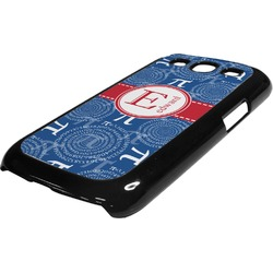 PI Plastic Samsung Galaxy 3 Phone Case (Personalized)
