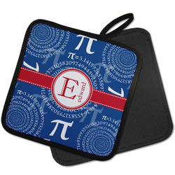 PI Pot Holder w/ Name and Initial