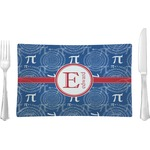 PI Glass Rectangular Lunch / Dinner Plate - Single or Set (Personalized)