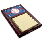 PI Red Mahogany Sticky Note Holder (Personalized)
