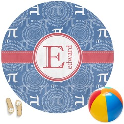 PI Round Beach Towel (Personalized)