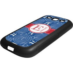 PI Rubber Samsung Galaxy 3 Phone Case (Personalized)