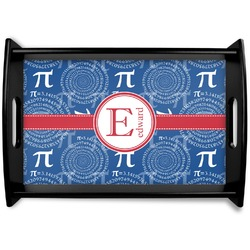 PI Black Wooden Tray (Personalized)