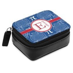 PI Small Leatherette Travel Pill Case (Personalized)