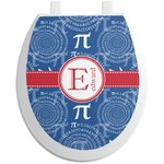 PI Toilet Seat Decal (Personalized)