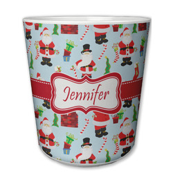 Santa and Presents Plastic Tumbler 6oz (Personalized)