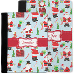 Santa and Presents Notebook Padfolio w/ Name or Text