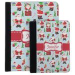 Santa and Presents Padfolio Clipboard (Personalized)