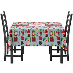Santa and Presents Tablecloth (Personalized)