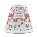 Santa and Presents Chandelier Lamp Shade (Personalized)