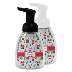 Santa and Presents Foam Soap Bottle (Personalized)