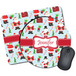 Santas w/ Presents Mouse Pads (Personalized)