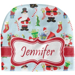 Santas w/ Presents Baby Hat (Beanie) (Personalized)