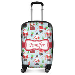 Santas w/ Presents Suitcase (Personalized)