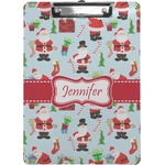 Santa and Presents Clipboard (Personalized)