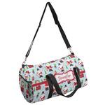 Santas w/ Presents Duffel Bag (Personalized)