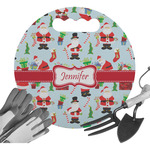 Santa and Presents Gardening Knee Cushion (Personalized)