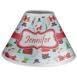 Santas w/ Presents Coolie Lamp Shade (Personalized)