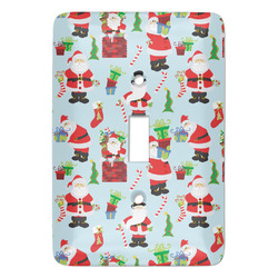 Santas w/ Presents Light Switch Covers (Personalized)