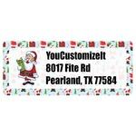 Santa and Presents Return Address Labels (Personalized)