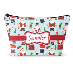 Santas w/ Presents Makeup Bags (Personalized)