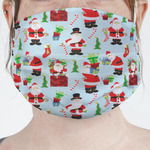 Santas w/ Presents Face Mask Cover (Personalized)