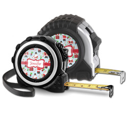 Santa and Presents Tape Measure (Personalized)
