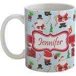 Santas w/ Presents Coffee Mug (Personalized)