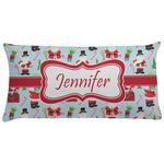 Santas w/ Presents Pillow Case (Personalized)