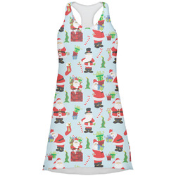 Santas w/ Presents Racerback Dress (Personalized)