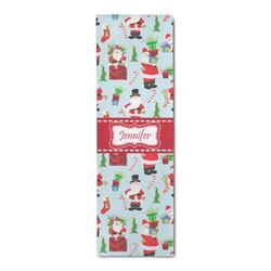 Santas w/ Presents Runner Rug - 3.66'x8' (Personalized)