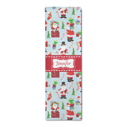 Santas w/ Presents Runner Rug - 3.66'x8' (Personalized)