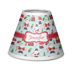 Santas w/ Presents Chandelier Lamp Shade (Personalized)