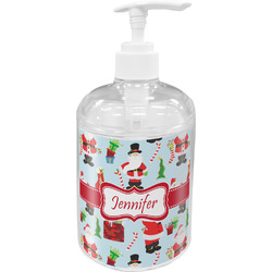 Santas w/ Presents Soap / Lotion Dispenser (Personalized)