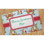 Santa on Sleigh Area Rug (Personalized)
