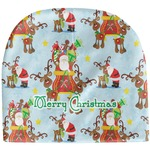 Santa on Sleigh Baby Hat (Beanie) (Personalized)