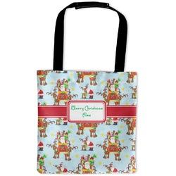 Santa on Sleigh Auto Back Seat Organizer Bag (Personalized)