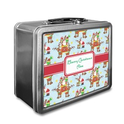 Santa on Sleigh Lunch Box (Personalized)