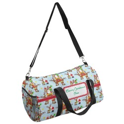 Santa on Sleigh Duffel Bag - Multiple Sizes (Personalized)
