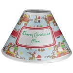 Santa on Sleigh Coolie Lamp Shade (Personalized)