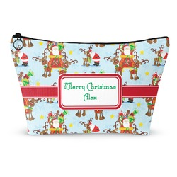 Santa on Sleigh Makeup Bags (Personalized)