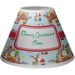 Santa on Sleigh Empire Lamp Shade (Personalized)