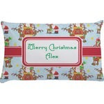 Santa on Sleigh Pillow Case (Personalized)