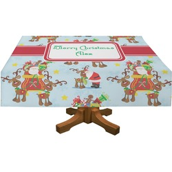 Santa on Sleigh Tablecloth (Personalized)