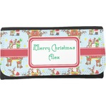 Santa on Sleigh Leatherette Ladies Wallet (Personalized)