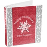 Snowflakes 3-Ring Binder (Personalized)