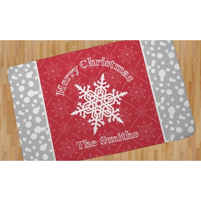 Snowflakes Area Rug (Personalized)