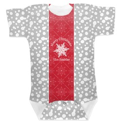 Snowflakes Baby Bodysuit (Personalized)
