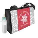 Snowflakes Diaper Bag (Personalized)